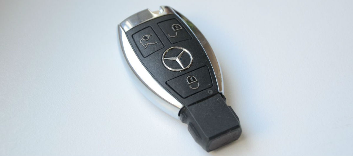 Чип-ключ для автомобилей мерседес