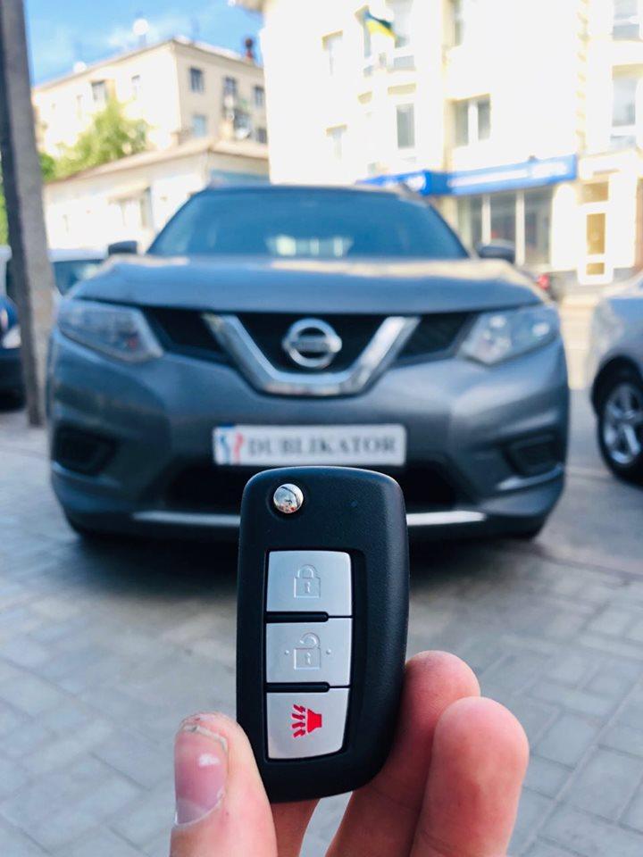 ключ на Nissan Rogue